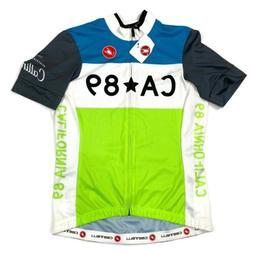 NEW Castelli Womens Medium Donna Cycling Biking Jersey Full