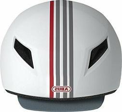 NEW Abus Yadd-I Bike Bicycle Safety Helmet Streak White Adul
