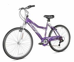 "Next Comfort Bike Women's Purple 26"" Full Suspension Cruis"