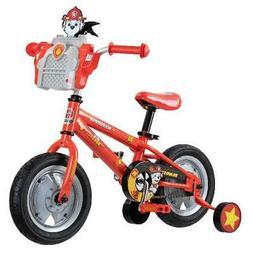 Nickelodeon's PAW Patrol Marshall Play & Ride Bike, 12-inch