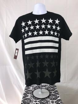 NWT Tony Hawk Mens MEDIUM American Flag Stars T Shirt Skateb