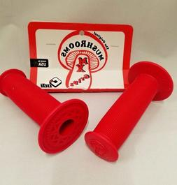 OLD SCHOOL BMX ODI MUSHROOM GRIPS RED
