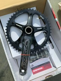 SRAM Omnium Black 165mm Crank Set Track Bike Fixed Gear 48T