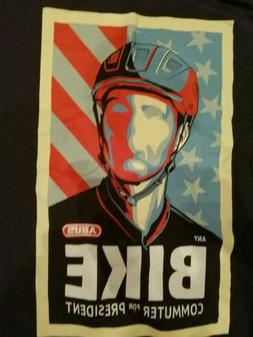 One of a Kind Bike Commuter for President T-shirt Men's Medi