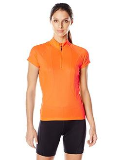 Canari Women's Optic Nova Jersey, Solar Orange, Medium