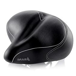 Oversized Comfort Bike Seat Most Comfortable Replacement Bic