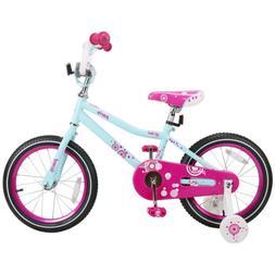 JOYSTAR Paris Kids Bike Girl Bicycle with Basket & Coaster B