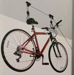 Racor PBH-1R Ceiling-Mounted Bike Lift - Overhead Bike Rack