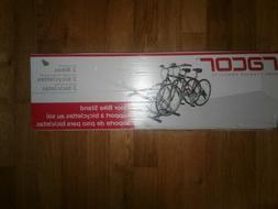 Racor - PBS-2R - Floor Bike Stand - for 2 Bikes, 1-Pack, Bla