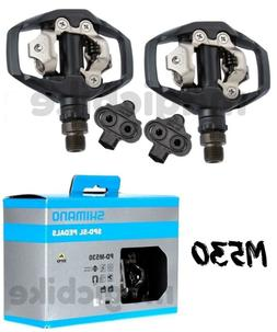 Shimano PD-M530 Bike Pedals Black 9/16in