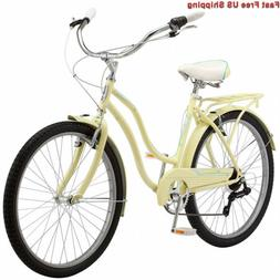 Schwinn Perla Women's Cruiser Bicycle, 26-Inch Wheels, Multi