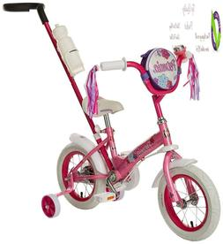 Schwinn Petunia And Grit Steerable Kids Bikes, Featu Push Ha