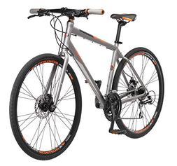 Schwinn Men's Community 700c Hybrid Bicycle, White, 18-Inch