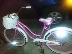Pink 24 inch Schwinn bike