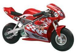 Razor Pocket Rocket 24V Mini Bike Electric Motorcycle - Red