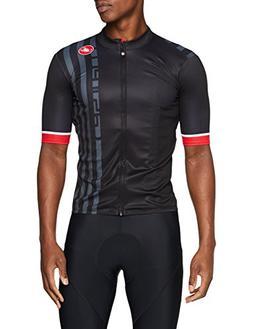 Castelli Podio Doppio Full-Zip Jersey - Men's Black, L