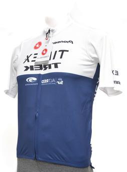 Castelli Podio Timex Trek Zip Jersey Men MEDIUM Road Bike Bl