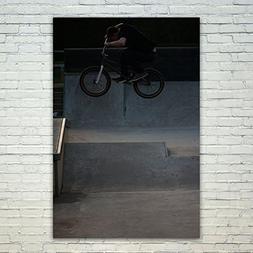 Westlake Art Poster Print Wall Art - Bmx Bike - Modern Pictu