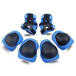 Kids Protective Gear SKL Knee Pads for Kids Knee and Elbow P