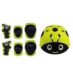 Kids 7 Pieces Outdoor Sports Protective Gear Set Boys and Gi