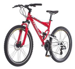 Protocol 1.0 Dual-Suspension Mountain Bike with Aluminum Fra