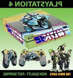 PS4 Skin Danny Kent 52 Leopard Team Moto GP Bike Sticker + P