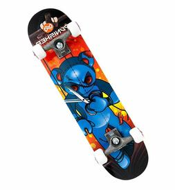 Punisher Skateboards Puppet 31-Inch Double Kick Concave Comp