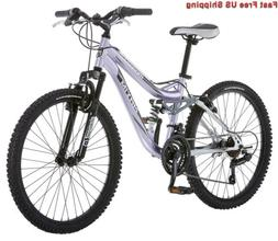 Mongoose R3577 Girl's Maxim Full Suspension Bicycle