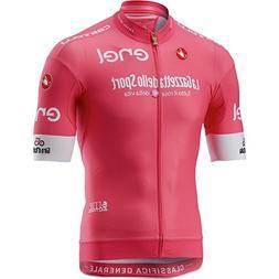 Castelli Giro Race Full-Zip Jersey - Men's Rosa Giro, L