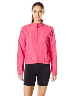 Canari Women's Radiant Wind Shell Jacket Jacket, Hot Pink, X