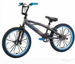 Mongoose Radical kids BMX bike, 20-inch mag wheel, Boys, Gre