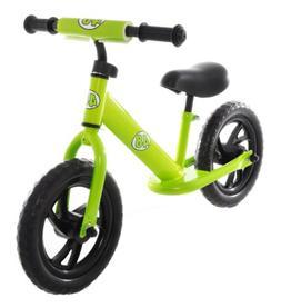 Rally Balance Bike Training No Pedal Push Bicycle Green