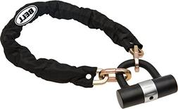 Bell Rampage 300 Chain with Mini U-Lock, Black