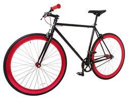 Vilano Rampage Fixed Gear Bike Fixie Single Speed Road Bike