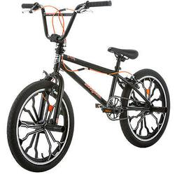 "Mongoose Rebel Freestyle Kids BMX Bike, 20"" aluminum mag whe"