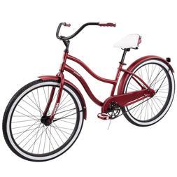 """Retro Beach Huffy 26"""" Women's/Girls Cruiser Bike with Perfec"""