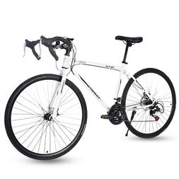 Road Bike 21 Speed Men's Bikes 700C wheels Bicycle Disc Brak