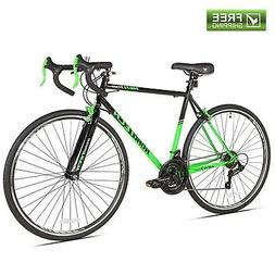 "Kent Road Bike 22.5"" Men's Green Black Steel Frame Sport B"