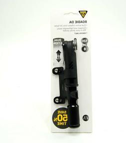 Topeak Roadie DA Dual Action Pump for Road 18cm 120psi/8.3ba