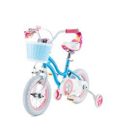 RoyalBaby Girls Kids Bike Stargirl 12 14 Inch Bicycle with B