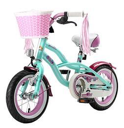 BIKESTAR Original Premium Safety Sport Kids Bike with sidest