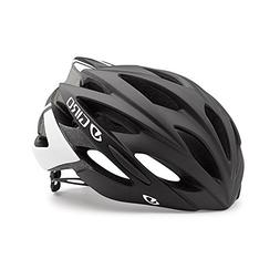 Giro Savant Road Bike Helmet, Matte Black/White, Medium