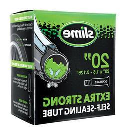 """Slime 20"""" x 1.75-2.125"""" Schrader Valve Self-Sealing tube"""