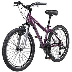 "24"" Schwinn Sidewinder Girl's Bike, Purple"