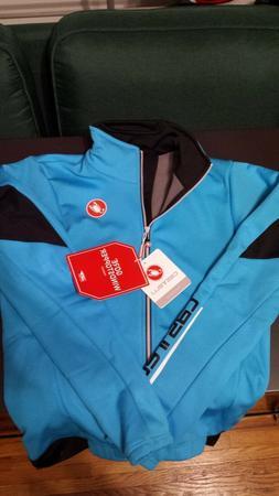 Castelli Senza 2 winter cycling biking jacket size mens medi