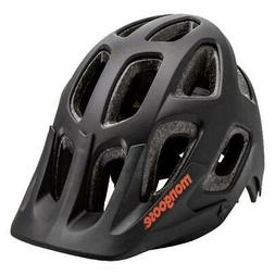 Mongoose Session Adult Bicycling Helmet, Black Cycling Prote