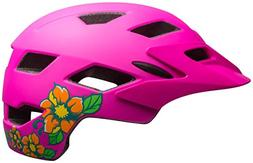 Bell Sidetrack Youth Bike Helmet - Kid's Matte Pink Blossom