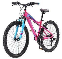 "Mongoose Girls Silva Mountain Bicycle Pink 24"" Wheel 13""/Sma"