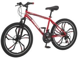 "Mongoose Singe Boy'S Mountain Bike, 24"" Wheels, Red NEW"