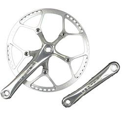 single speed crankset set 56t